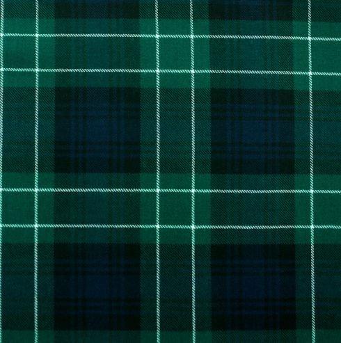 Image 1 of Abercrombie Modern Tartan 10oz Reiver Wool Fabric Lightweight Boys Kilt