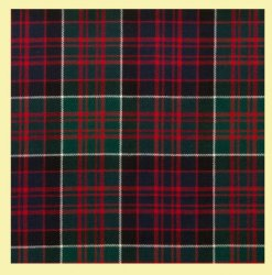 MacDonald Of Clanranald Modern Tartan Lightweight Wool Mens Vest Waistcoat