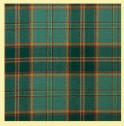 All Ireland Green Irish Tartan 10oz Reiver Wool Fabric Lightweight Boys Kilt