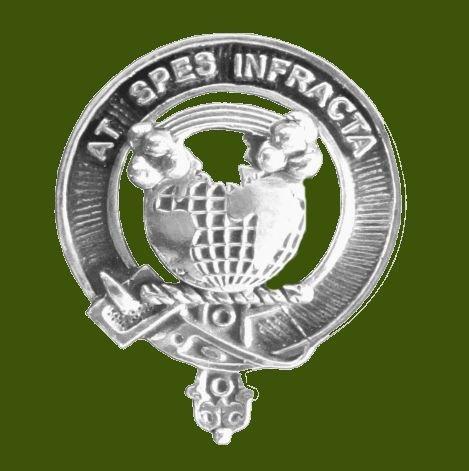 Image 0 of Hope Clan Cap Crest Stylish Pewter Clan Hope Badge