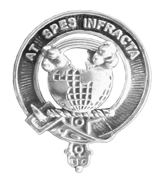 Image 1 of Hope Clan Cap Crest Stylish Pewter Clan Hope Badge
