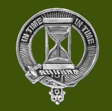 Image 0 of Houston Clan Cap Crest Stylish Pewter Clan Houston Badge