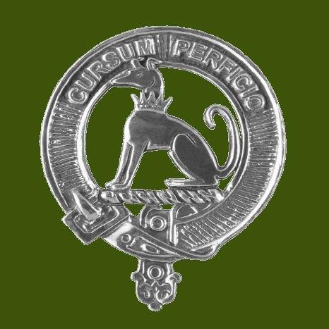 Image 0 of Hunter Clan Cap Crest Stylish Pewter Clan Hunter Badge