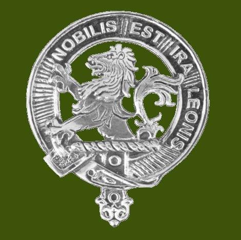 Image 0 of Inglis Clan Cap Crest Stylish Pewter Clan Inglis Badge