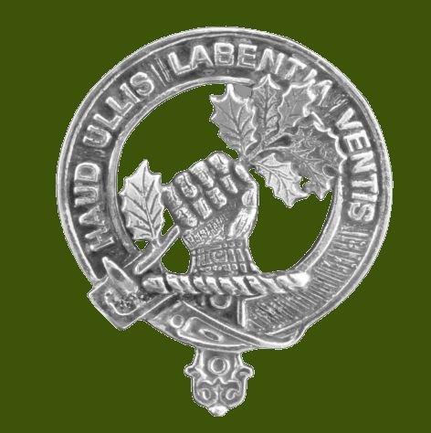 Image 0 of Irvine Of Bonshaw Clan Cap Crest Stylish Pewter Clan Irvine Of Bonshaw Badge