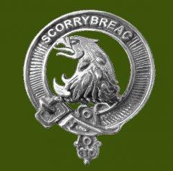 Nicholson Clan Cap Crest Stylish Pewter Clan Nicholson Badge