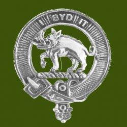 Nisbet Clan Cap Crest Stylish Pewter Clan Nisbet Badge