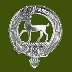 Scott Clan Cap Crest Stylish Pewter Clan Scott Badge