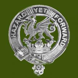 Seton Clan Cap Crest Stylish Pewter Clan Seton Badge