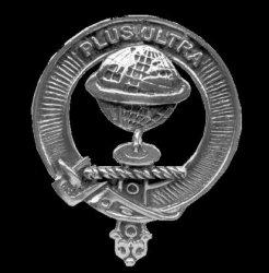 Nairn Clan Cap Crest Sterling Silver Clan Nairn Badge