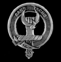 Napier Clan Cap Crest Sterling Silver Clan Napier Badge