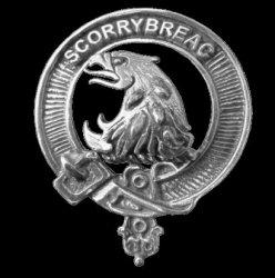 Nicholson Clan Cap Crest Sterling Silver Clan Nicholson Badge