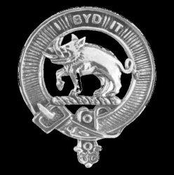 Nisbet Clan Cap Crest Sterling Silver Clan Nisbet Badge