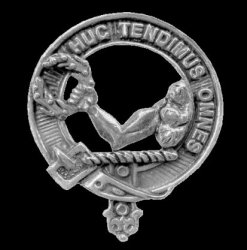 Paterson Clan Cap Crest Sterling Silver Clan Paterson Badge