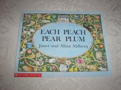 Each Peach Pear Plum Janet and Allan Ahlberg brand new sc