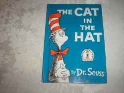 The Cat In The Hat Dr. Seuss very good hc