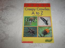 Creepy Crawlies A to Z Louisa Ainsworth very good sc