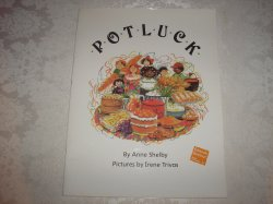 Potluck Multicultural Alphabet Teacher Big Book 14.5 x 19 inches Anne Shelby