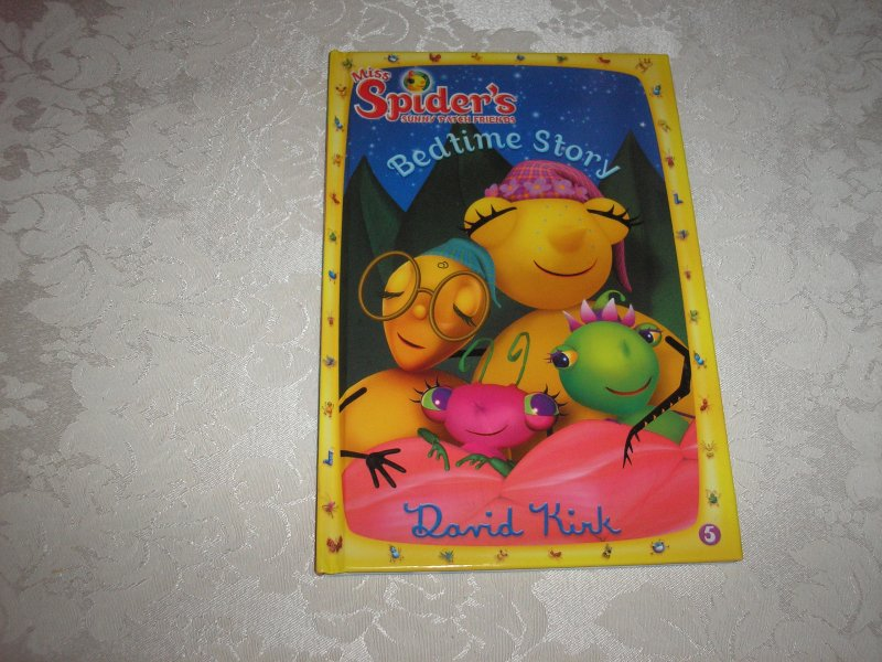 Image 0 of Miss Spider's Sunny Patch Friends Bedtime Story David Kirk brand new hc