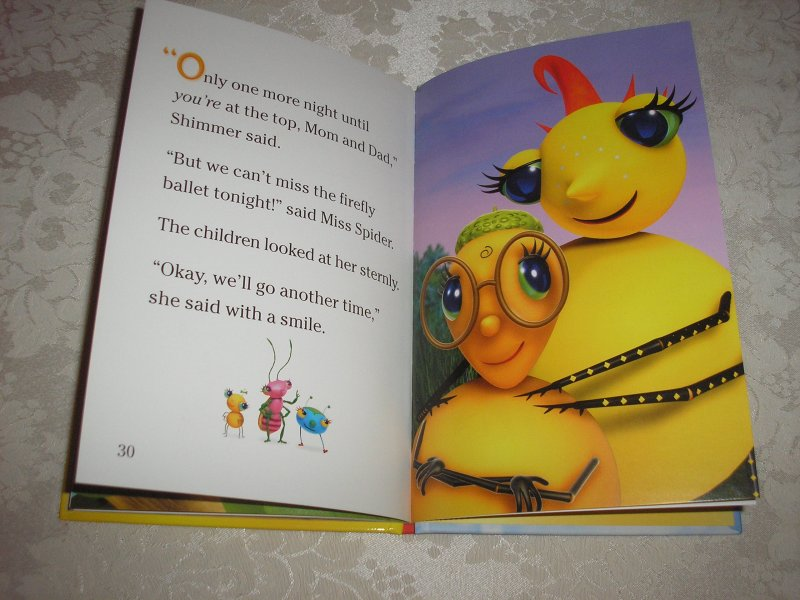 Image 9 of Miss Spider's Sunny Patch Friends Bedtime Story David Kirk brand new hc