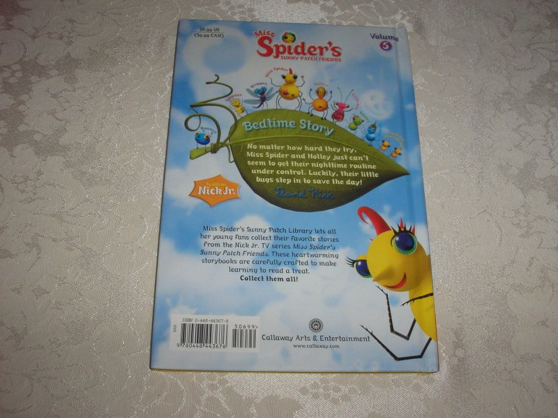 Image 10 of Miss Spider's Sunny Patch Friends Bedtime Story David Kirk brand new hc