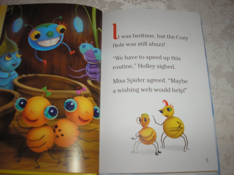 Image 1 of Miss Spider's Sunny Patch Friends Bedtime Story David Kirk brand new hc