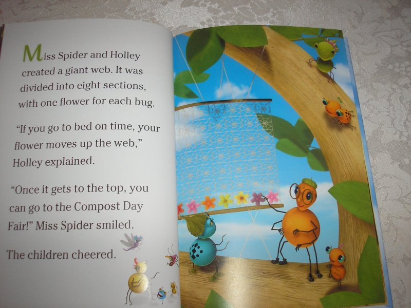 Image 2 of Miss Spider's Sunny Patch Friends Bedtime Story David Kirk brand new hc