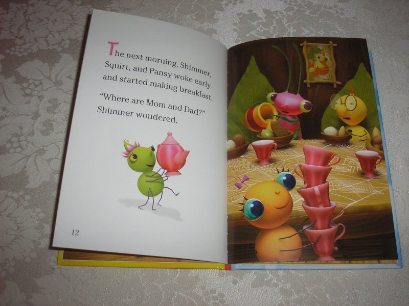 Image 5 of Miss Spider's Sunny Patch Friends Bedtime Story David Kirk brand new hc