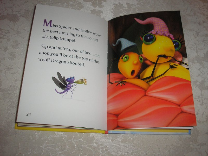 Image 7 of Miss Spider's Sunny Patch Friends Bedtime Story David Kirk brand new hc