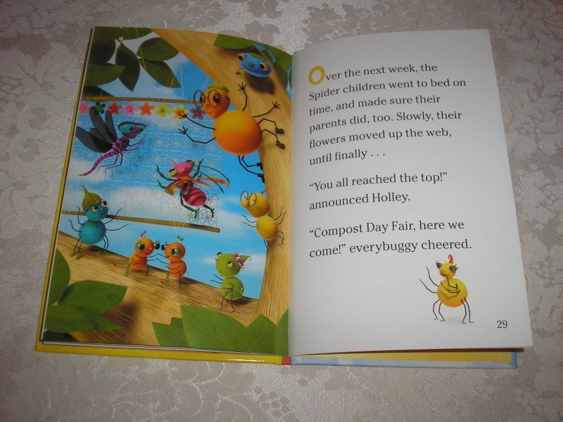 Image 8 of Miss Spider's Sunny Patch Friends Bedtime Story David Kirk brand new hc