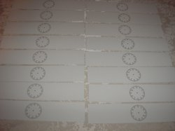 16 New Tag board Classroom Schedule Cards with Blank Clock
