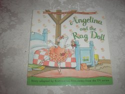 Angelina Ballerina Angelina and the Rag Doll very good sc