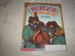 Berlioz The Bear Jan Brett good used sc