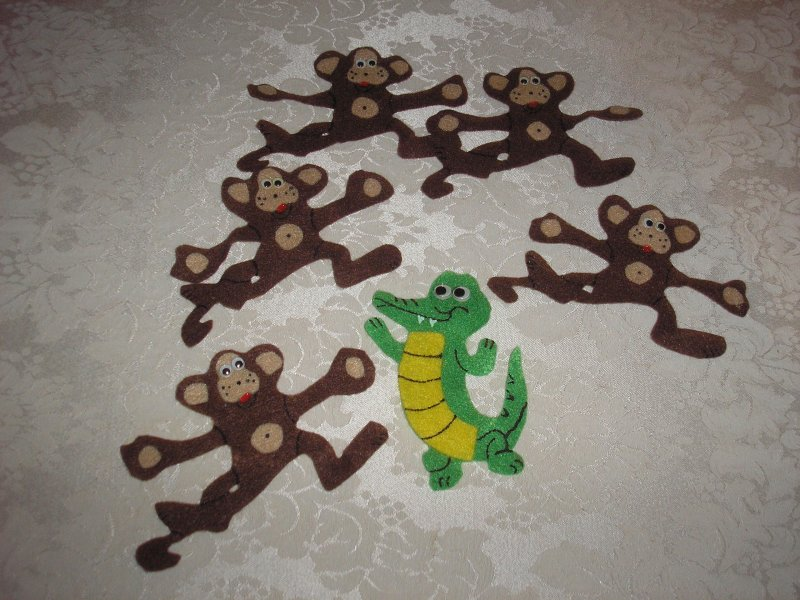 Five Little Monkeys Teasing Mr