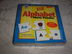 Alphabet Photo Puzzles brand new and sealed Frank Shaffer