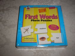 First Words Photo Puzzles brand new and sealed Frank Shaffer