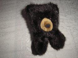 Folkmanis Baby Black Bear Puppet New 10