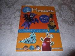 Eyelike Sticker Fun: Monsters playBac brand new sticker, stencil book