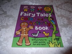 Fairy Tales Color and Activity Book with 200+ stickers brand new Priddy Books