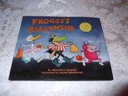 Froggy's Halloween Jonathan London brand new hc with dust jacket