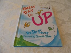 Great Day for Up Dr. Seuss brand new original size hc