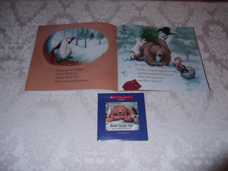 Image 1 of Bear Stays Up For Christmas Karma Wilson brand new sc with sealed audio CD