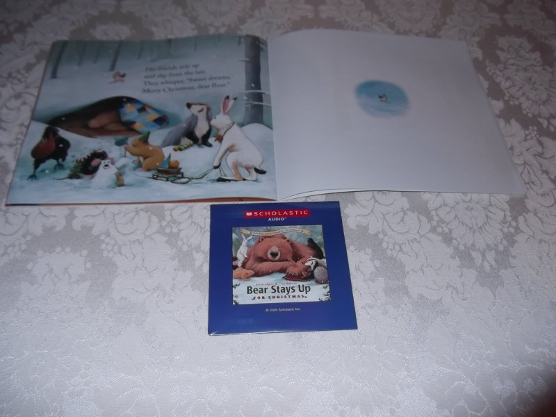 Image 4 of Bear Stays Up For Christmas Karma Wilson brand new sc with sealed audio CD