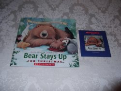 Bear Stays Up For Christmas Karma Wilson brand new sc with sealed audio CD
