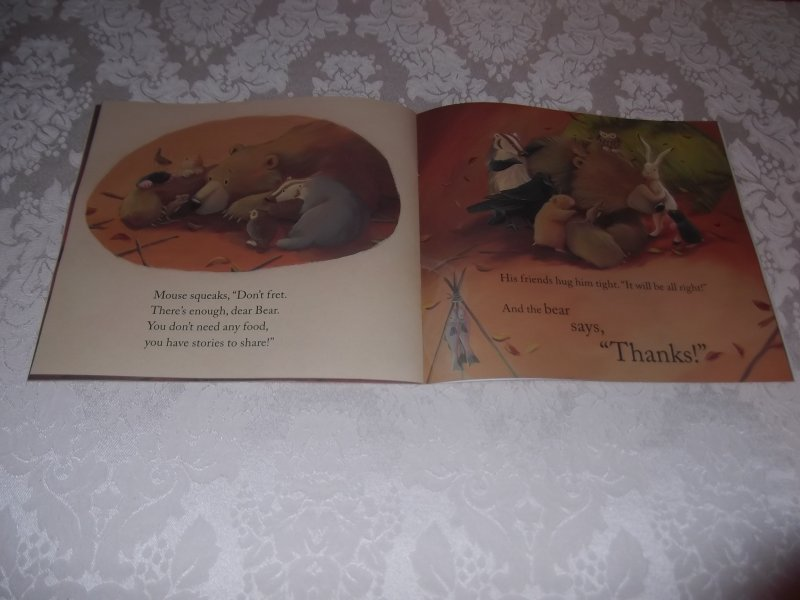 Image 1 of Bear Says Thanks Karma Wilson Jane Chapman Brand New Softcover