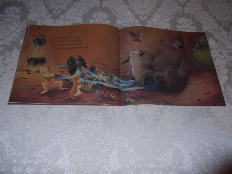 Image 2 of Bear Says Thanks Karma Wilson Jane Chapman Brand New Softcover