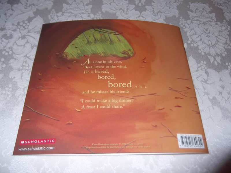 Image 5 of Bear Says Thanks Karma Wilson Jane Chapman Brand New Softcover
