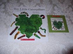Ten Little Caterpillars Bill Martin Jr Audio CD and Softcover Brand New