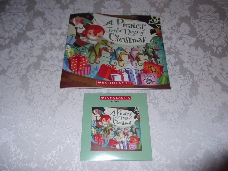Image 0 of A Pirate's Twelve Days of Christmas Audio CD and brand new sc Philip Yates