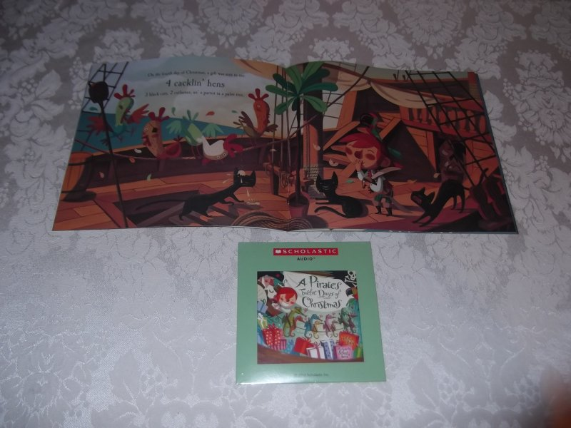 Image 3 of A Pirate's Twelve Days of Christmas Audio CD and brand new sc Philip Yates
